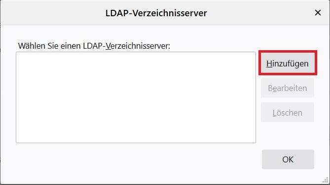 Thunderbird 78.x LDAP 2