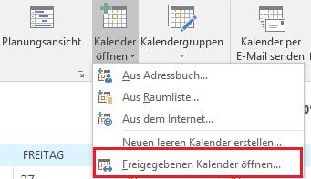 Outlook Berechtigungen 6