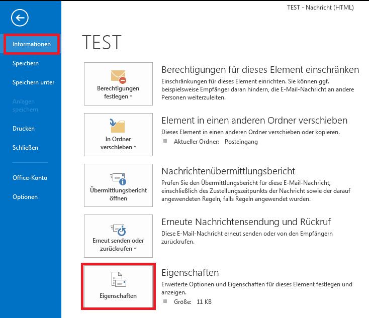 Outlook Mailheader 2