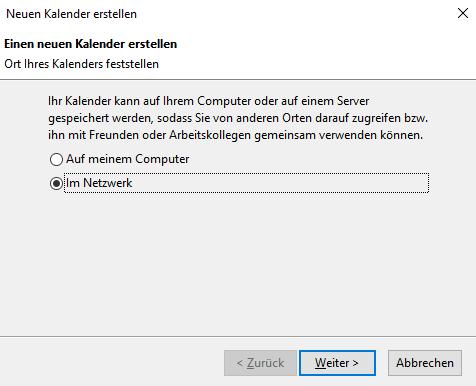 Thunderbird 60.x mit ExchangeCalendar v5.0.0 9