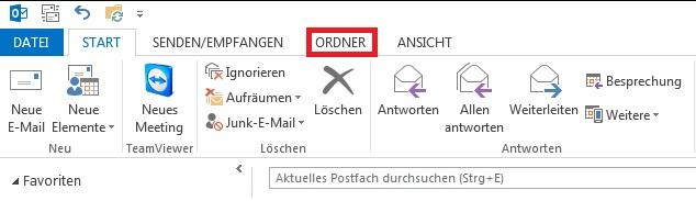 Wiederherstellung gelöschter Mails in Outlook 1