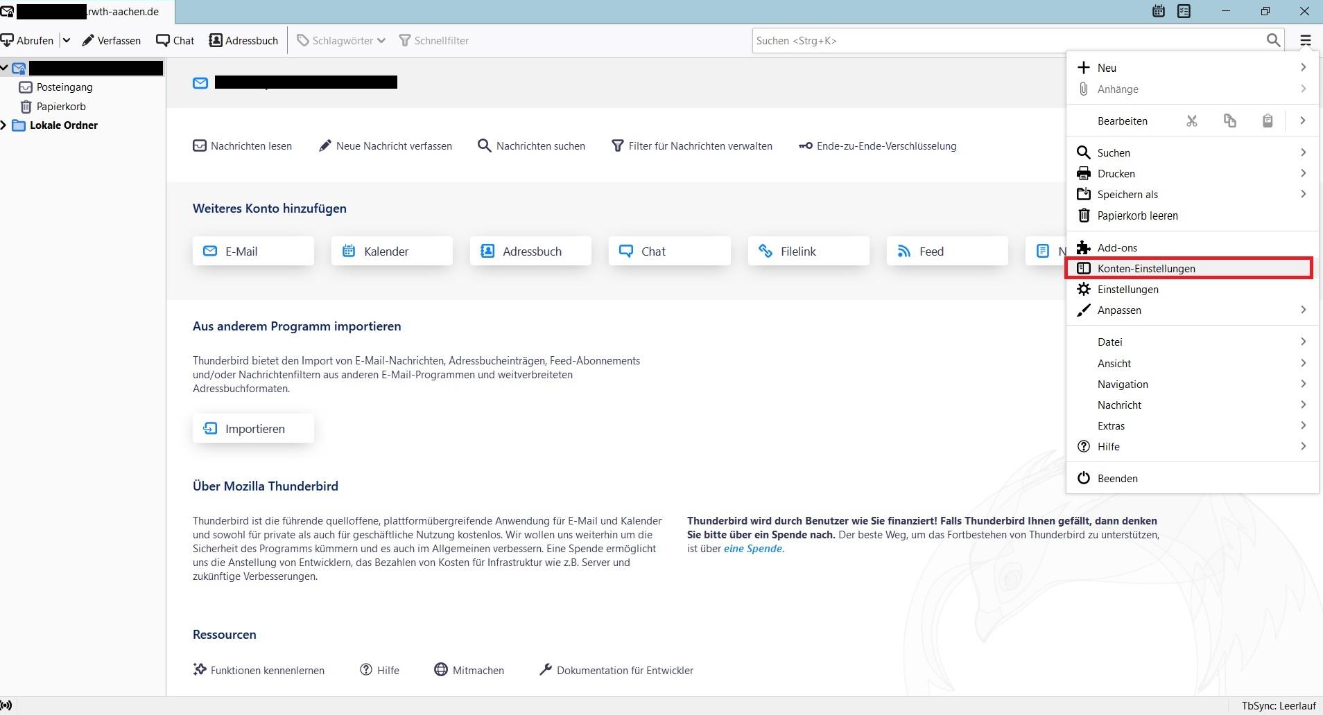 Wiederherstellung gelöschter Mails in Outlook 7