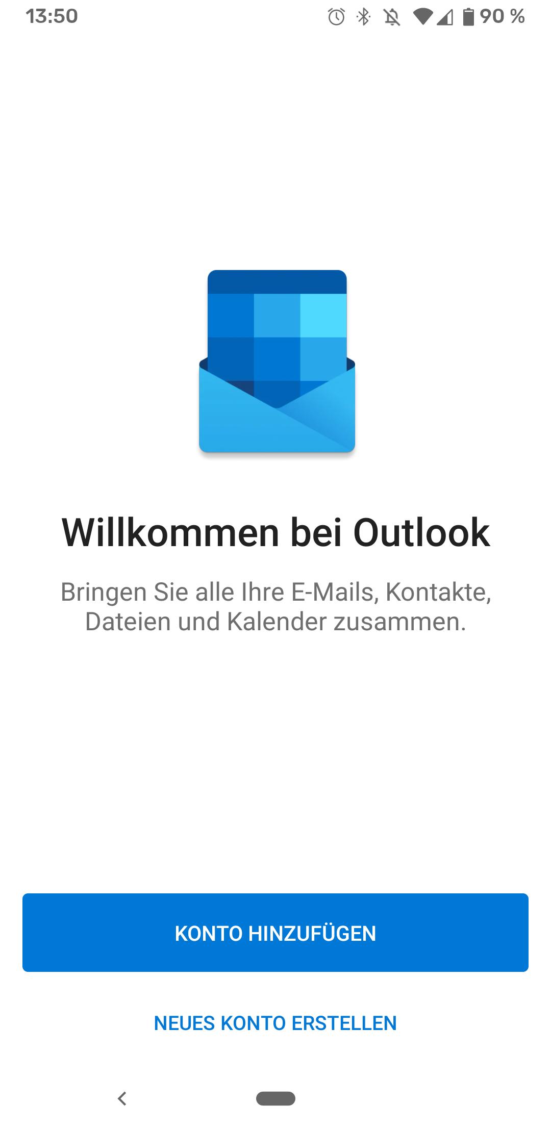 Outlook einrichten