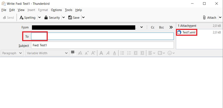 Forwarding E-Mail as Attachment 6