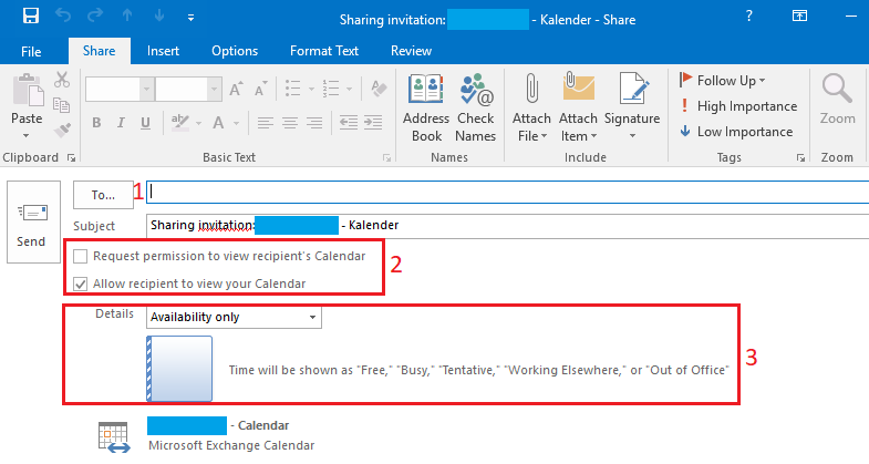 Outlook Permissions 2