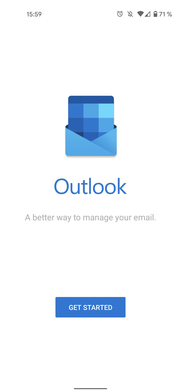 Outlook setup 1