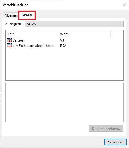 Verschlüsselung konfigurieren 6
