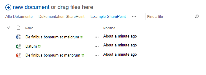 SharePoint file explorer