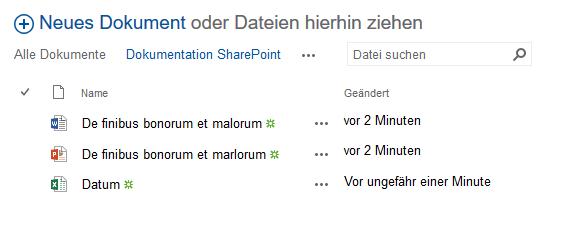 SharePoint Dateiexplorer