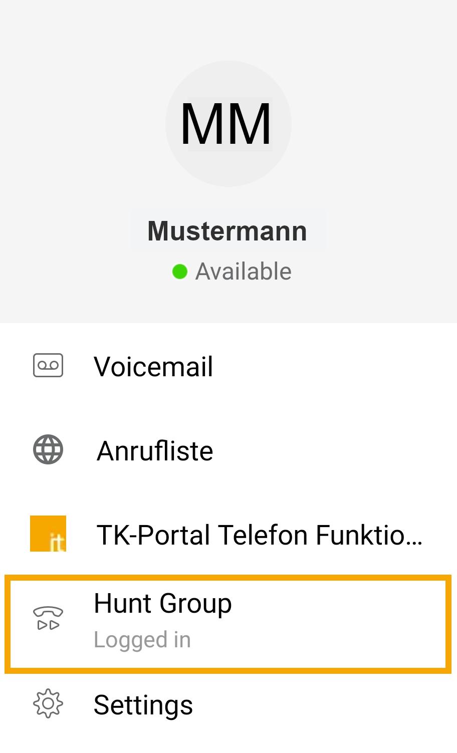 Sammelanschluss Android