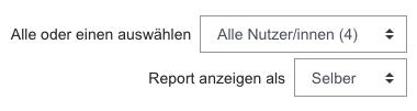 """Screenshot Einstellungen Teilnehmerübersicht """"Selber"""""""