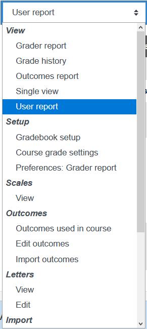 Screenshot Auswahl Teilnehmerübersicht