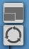 Button für Bild-im-Bild und Tauschen der Videos