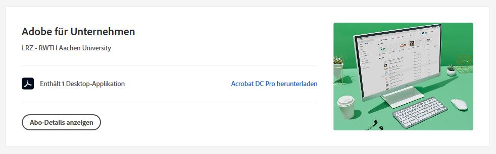 Error message during Adobe Pro DC download