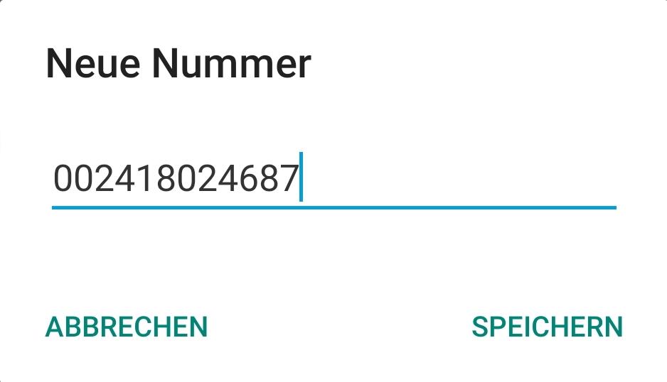 Weiterleitungen Android 5