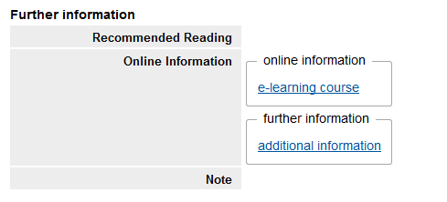 Link to the Course Room via RWTHonline