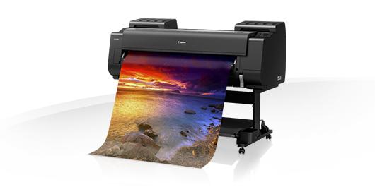 Bild von einem Drucker